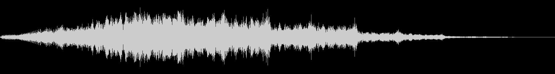 プラズマコンジットパルスの未再生の波形