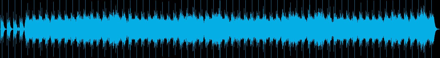 青森県下北地方の民謡を幻想的にアレンジの再生済みの波形