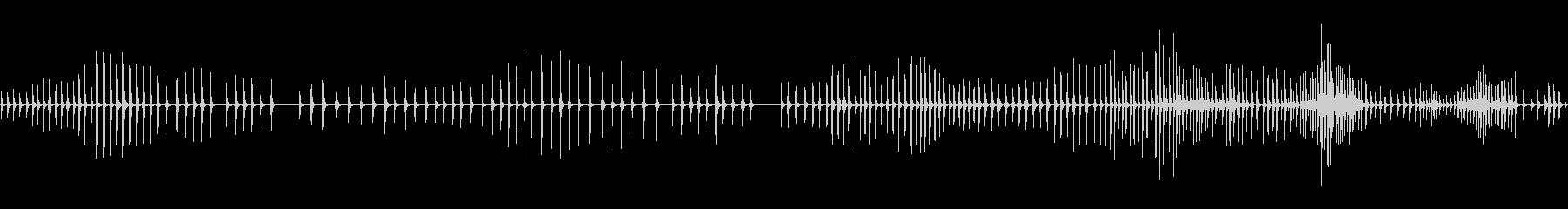 ラチェット、ターニング、クリック、...の未再生の波形