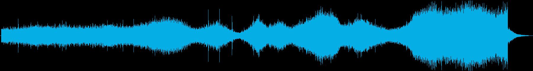 天気 雨03の再生済みの波形