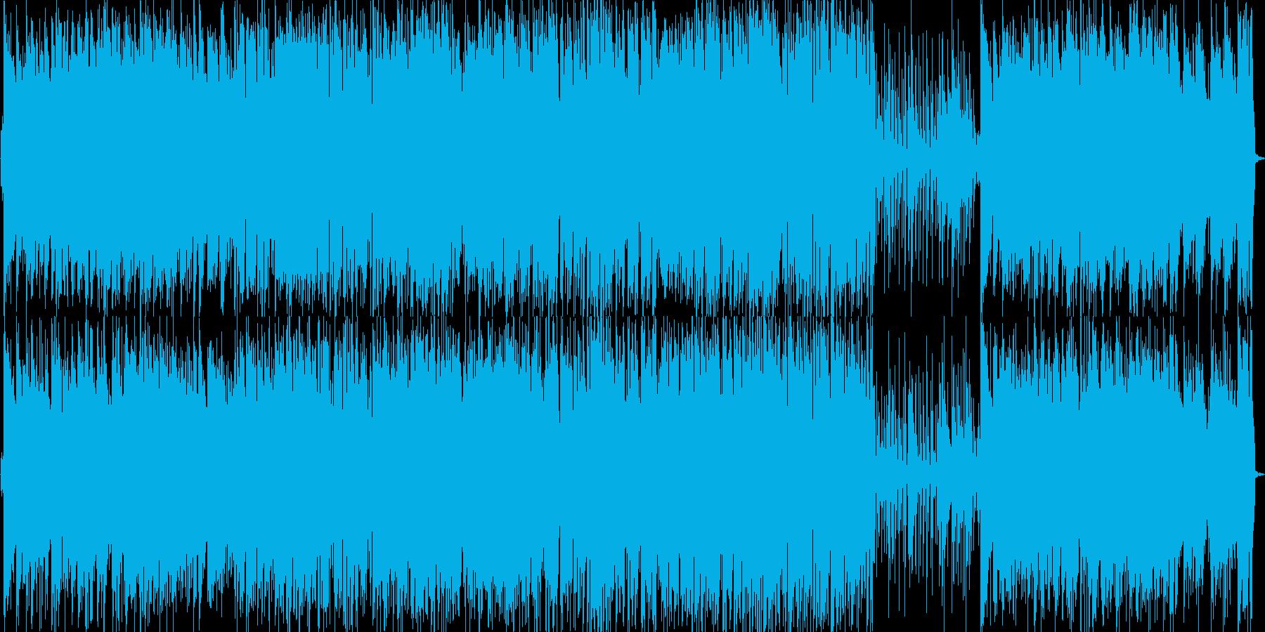 さわやかなで軽快なピアノトリオの再生済みの波形