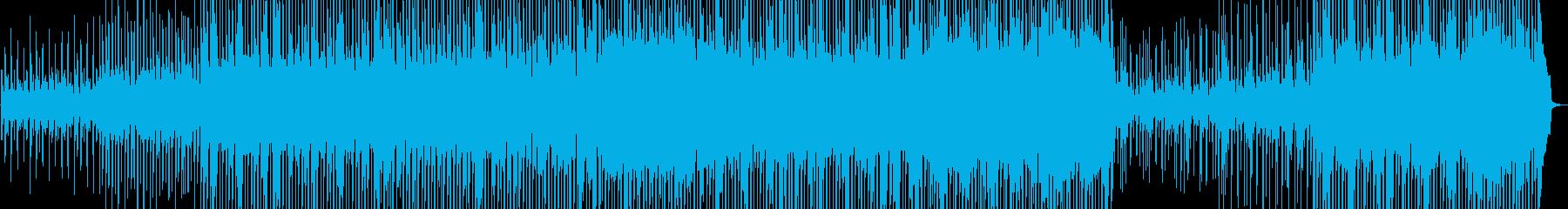 ポジティブなホイッスルメロディ、ア...の再生済みの波形