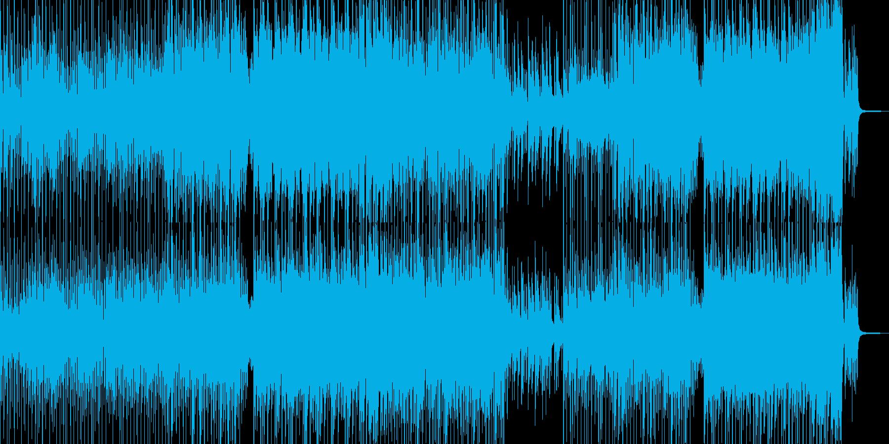 まったり・温かい雰囲気のポップス 長尺の再生済みの波形