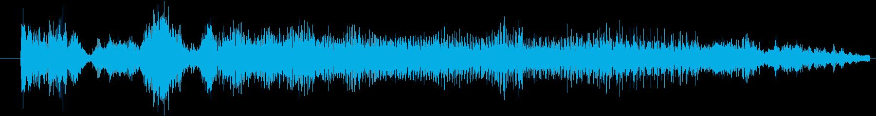 モンスター グリッチトーク03の再生済みの波形