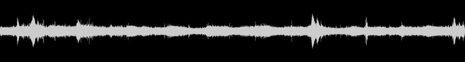 タヒチのトロピカルサーフィン、波が...の未再生の波形