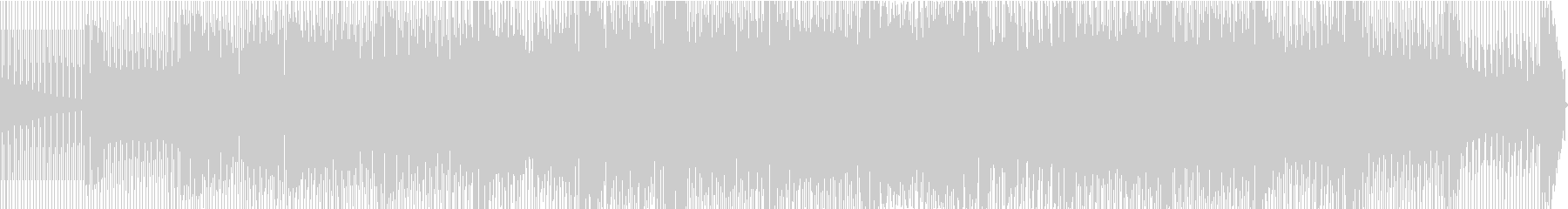 電子。調子外れのボイスとシンセのミックスの未再生の波形