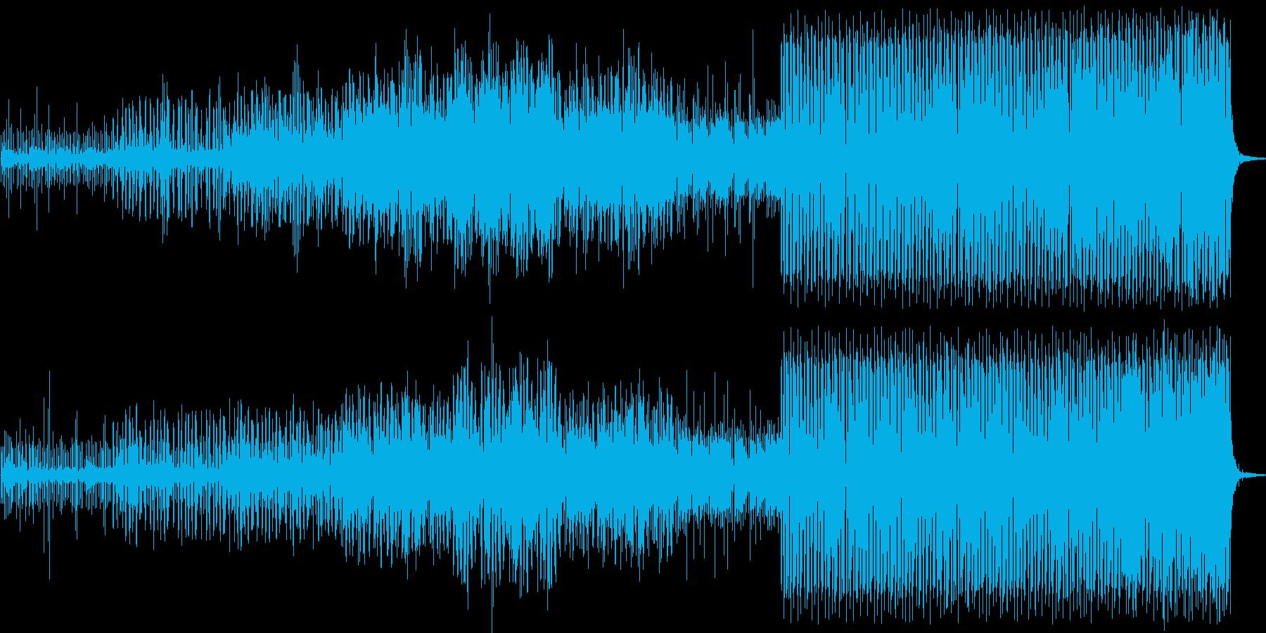 宇宙遊泳 ゆったり エレクトロニカの再生済みの波形