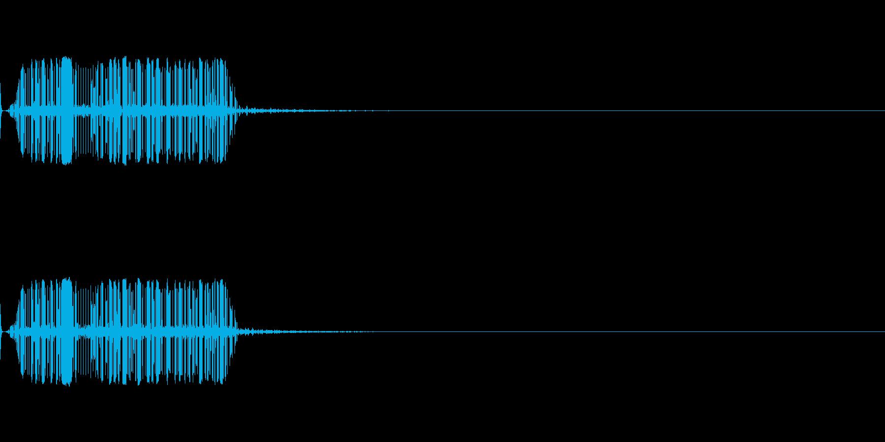 モジュールシンセサイザー ノイズ3 の再生済みの波形