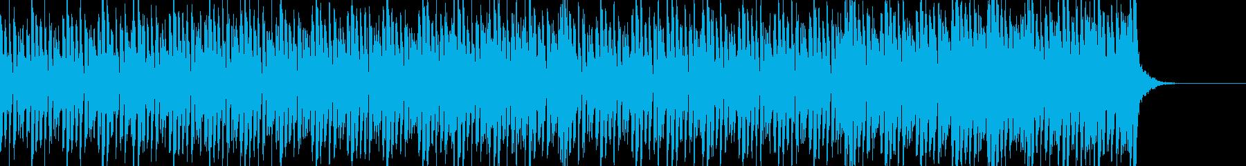 バトル:幻想的デジロック高速ビート60秒の再生済みの波形