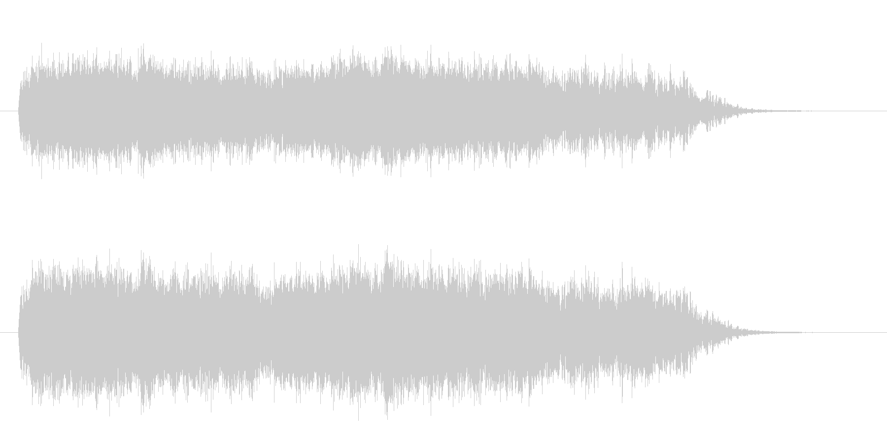 ホーワーワー(ミステリアスな効果音)の未再生の波形