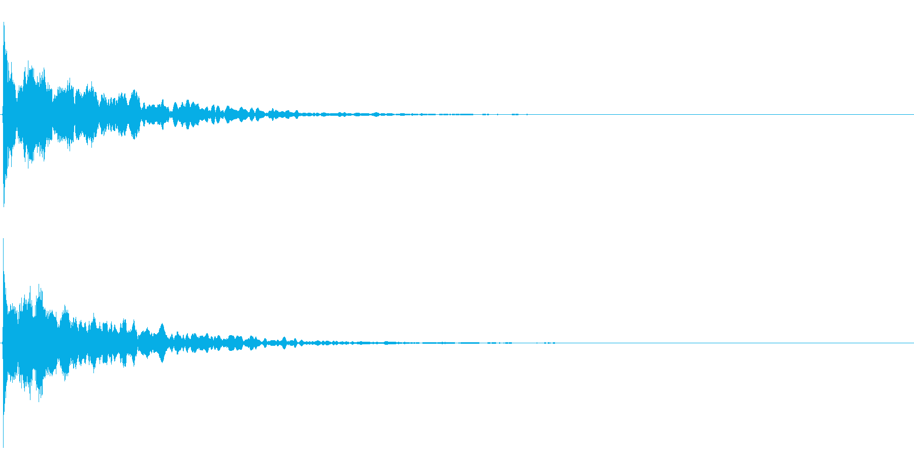 ゲームスタート、決定、ボタン音-005の再生済みの波形