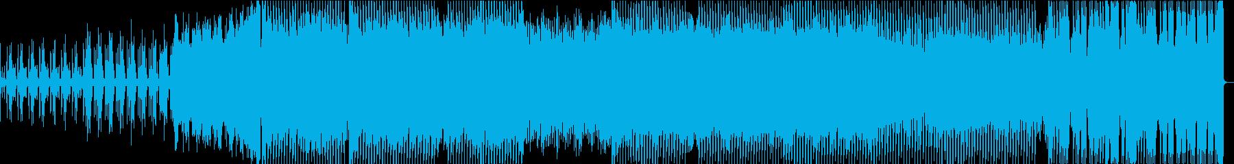 ダークでインパクトあるダウンテンポの再生済みの波形
