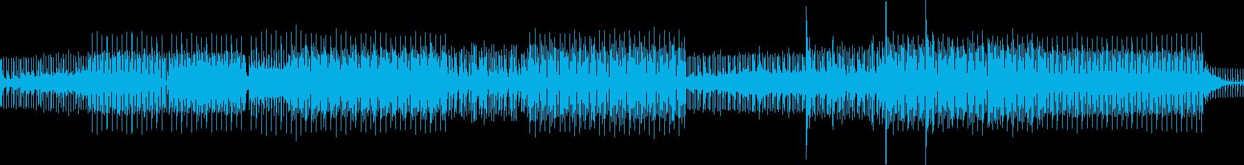 混乱溝。アンビエントチル。の再生済みの波形