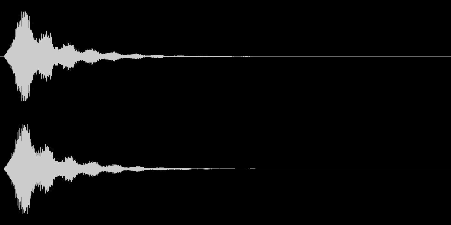 レーザー音-158-2の未再生の波形