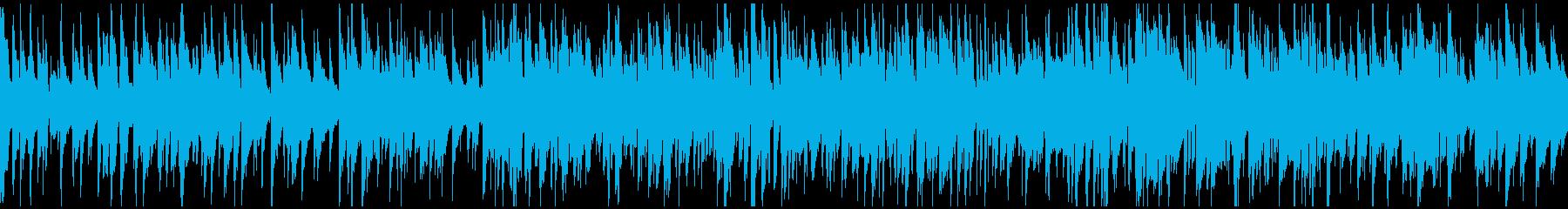 軽やかで明るいライトジャズ ※ループ版の再生済みの波形