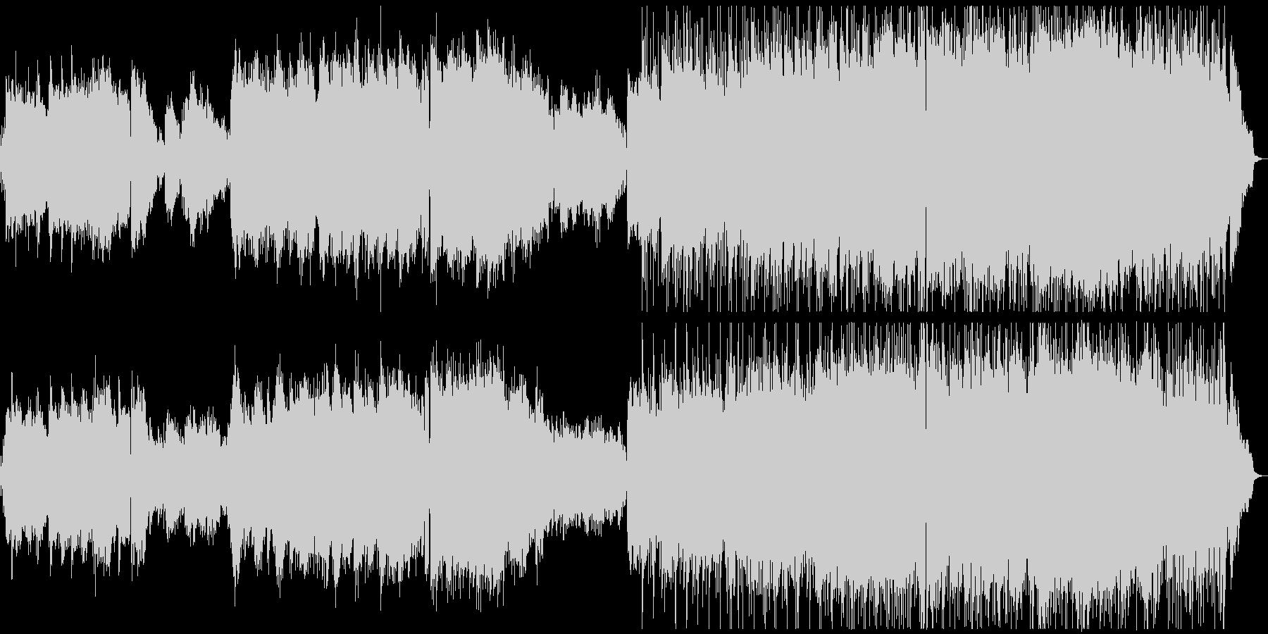 広がりの感じられるJpopバラードの未再生の波形
