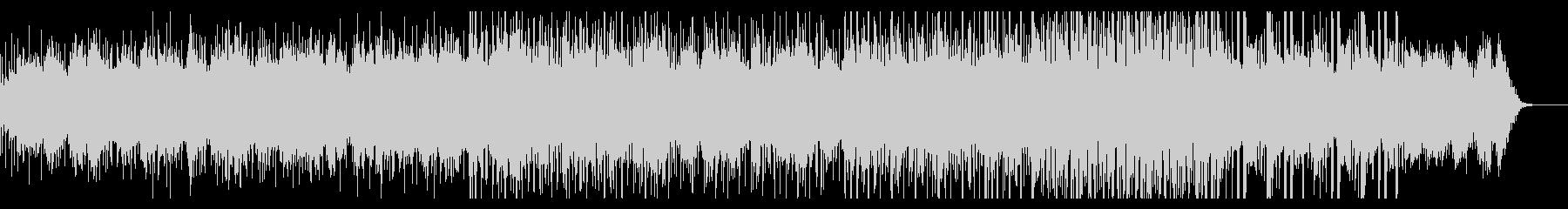 明るめのグリッジギターアンビエントの未再生の波形