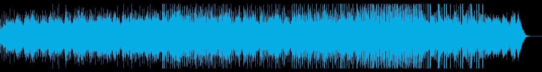 明るめのグリッジギターアンビエントの再生済みの波形