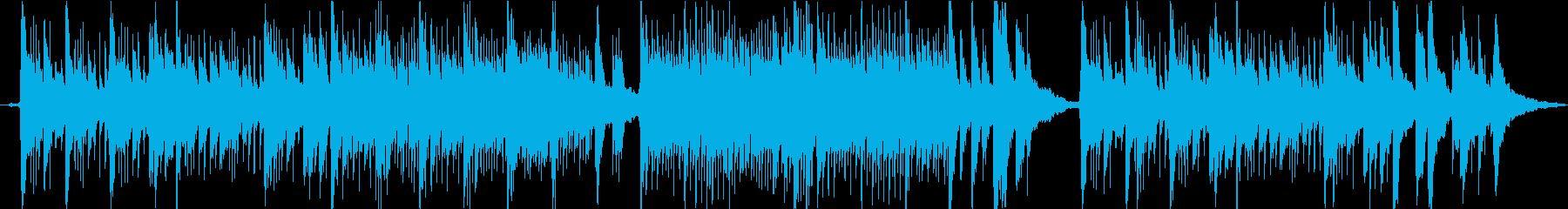 木造の一軒家_クラシックギターの再生済みの波形