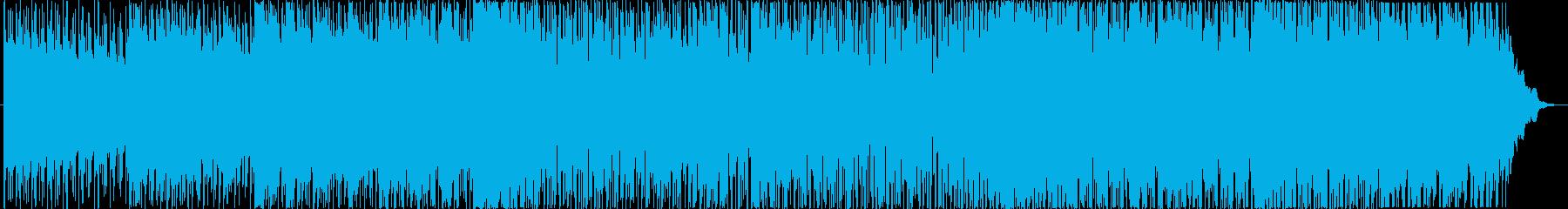 明るくリズミックなポップスBGMの再生済みの波形