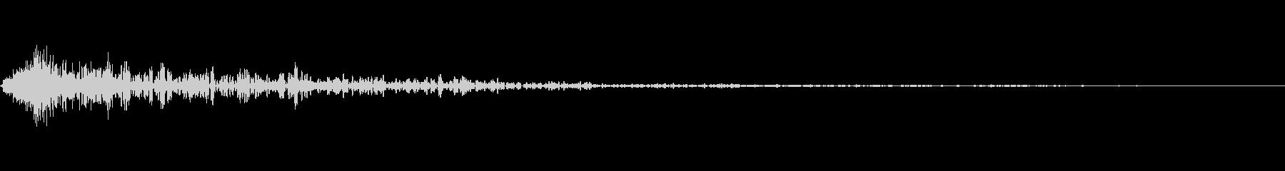 インパクトスリンキーヒットクワッドOの未再生の波形