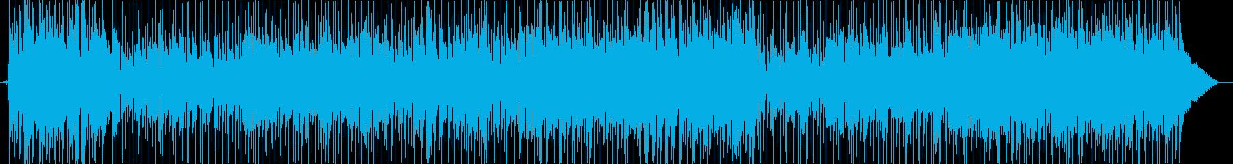 ダブルエンテンドファニークィーキーソングの再生済みの波形