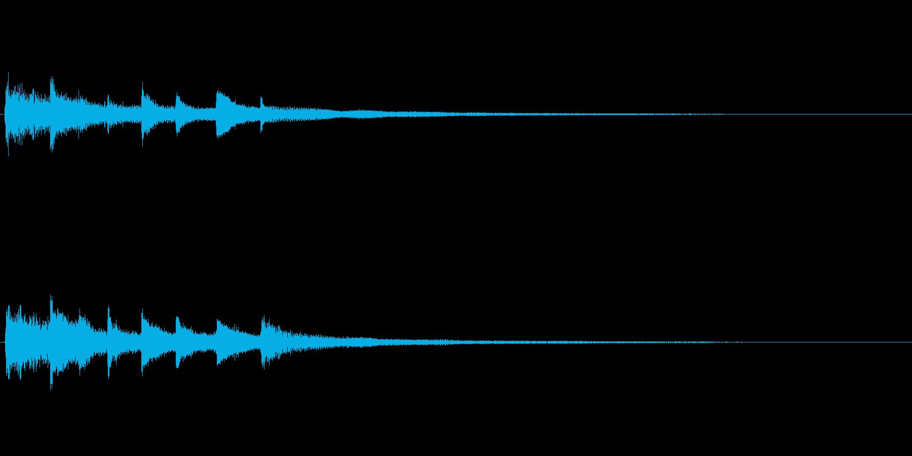 不安定、不可解、不気味なピアノソロ 06の再生済みの波形
