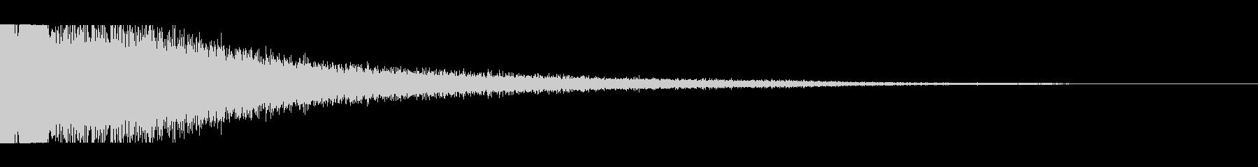 KANT驚愕ホラー衝撃ピアノ音3の未再生の波形