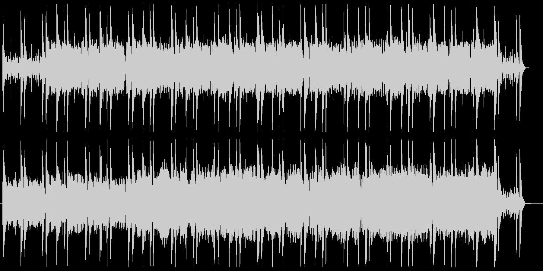 ほのぼのとしたケルト民謡風2の未再生の波形