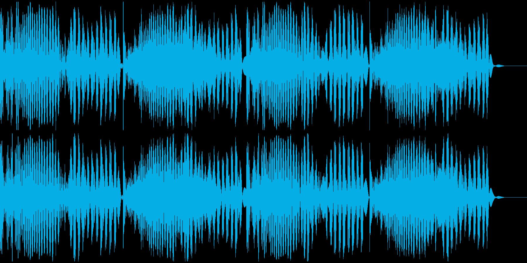 ビート音(185Bpm)の再生済みの波形