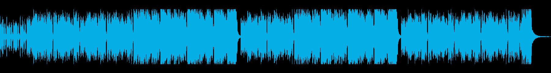 ヨーロッパ民族風BGM  アコーディオンの再生済みの波形
