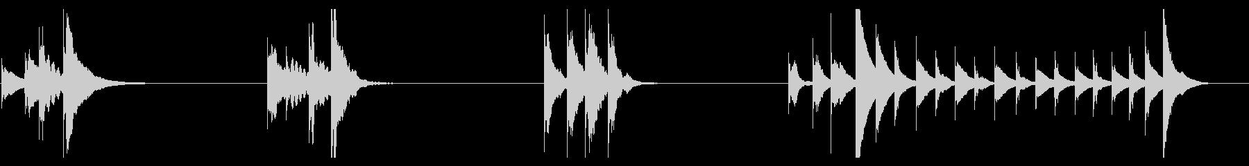 XYLOPHONE:SNEAKYの未再生の波形