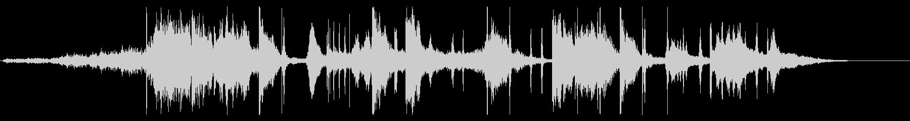 温かみのあるスタイリッシュなデジタルロゴの未再生の波形