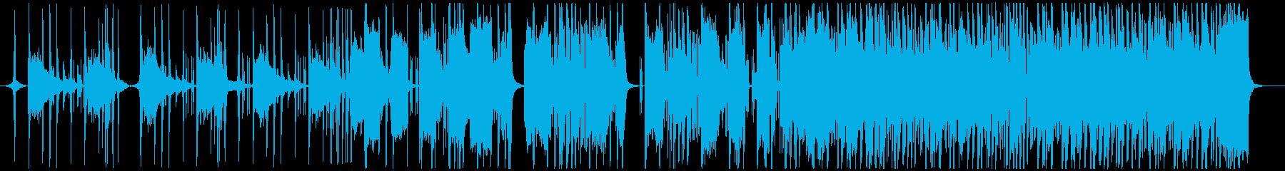 アコギが印象的な落ち着いた雰囲気のR&Bの再生済みの波形