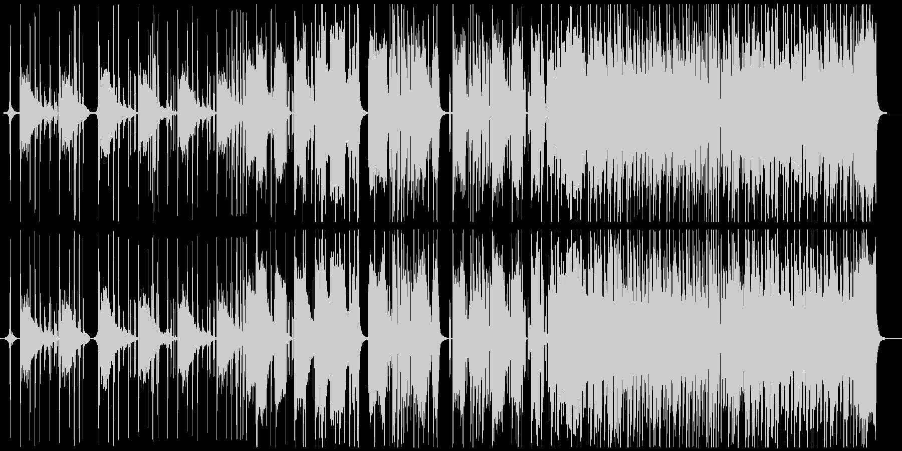アコギが印象的な落ち着いた雰囲気のR&Bの未再生の波形