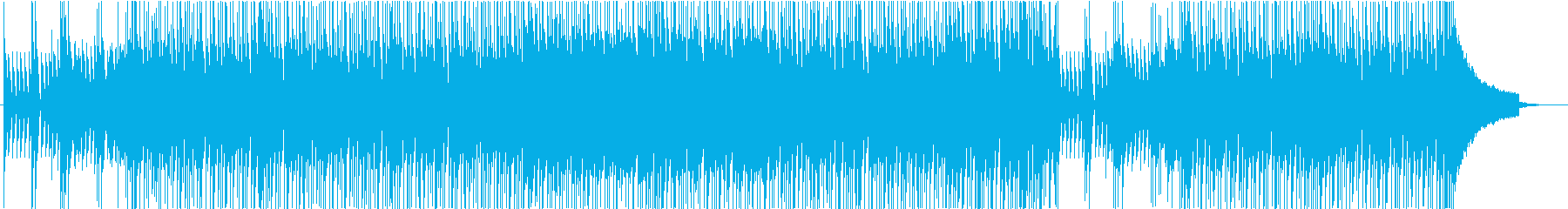 夏空の軽やかなポップスの再生済みの波形