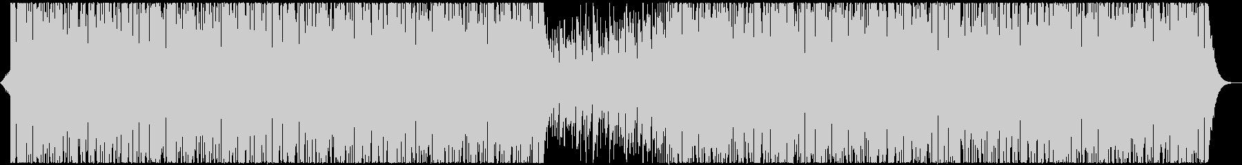 キラキラで切ないミドルテンポEDMの未再生の波形