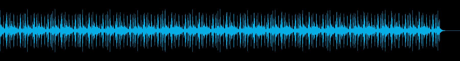 おしゃれでchillなBGMの再生済みの波形