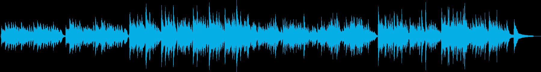 アコーステック 説明的 楽しげ 気...の再生済みの波形