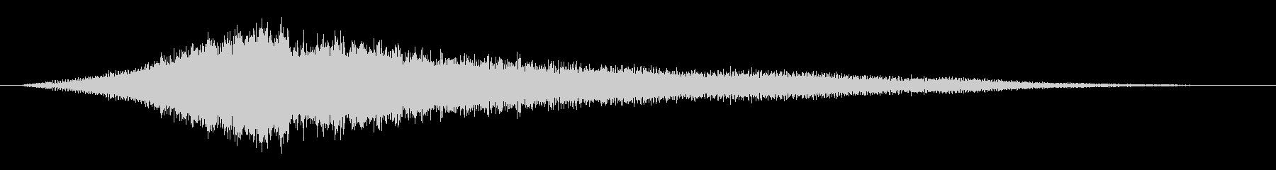 キュイーン:怖い音(ホラー)の未再生の波形