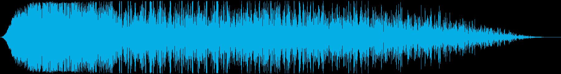 【SF】 宇宙船 エンジン音 噴射の再生済みの波形