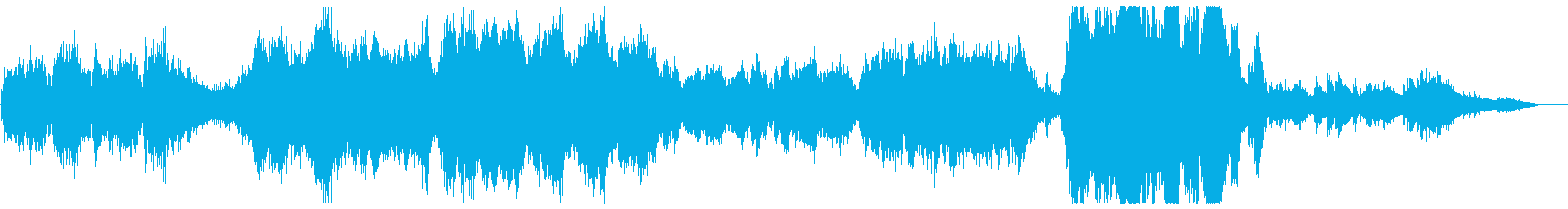 壮大なストリングス・オーケストラの再生済みの波形