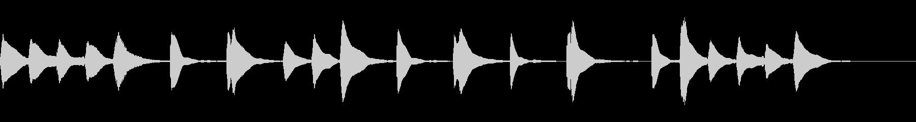 木琴ジングル12_ハッピーハッピー☆の未再生の波形