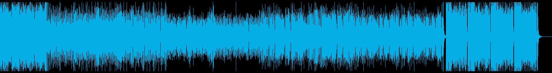 ホーンセッションでスカッとする曲の再生済みの波形
