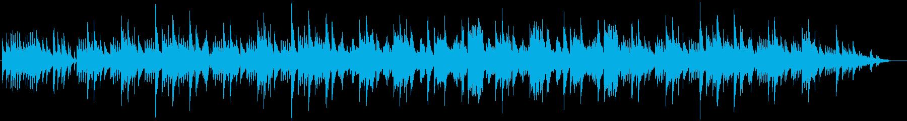 リラックスしたボサノバ調の再生済みの波形