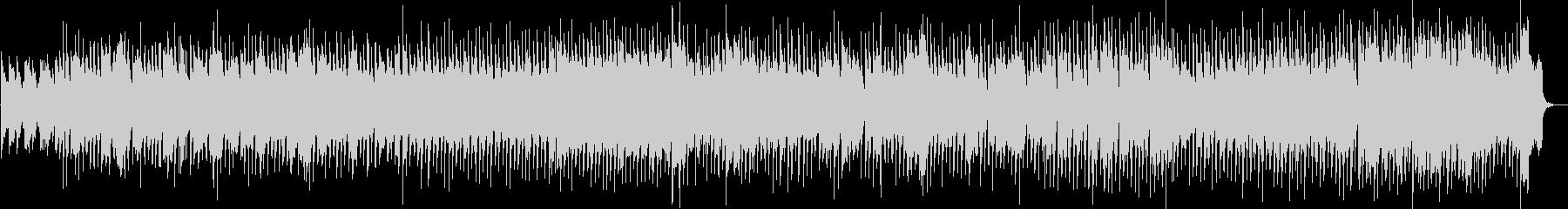 メランコリックなスイングジャズ約3分半の未再生の波形