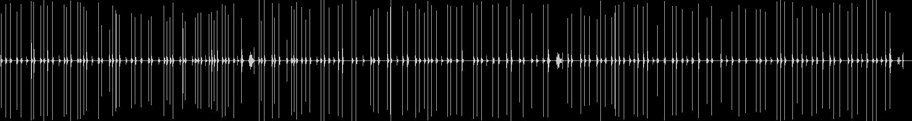 古典的なタイプライターの入力が遅いの未再生の波形