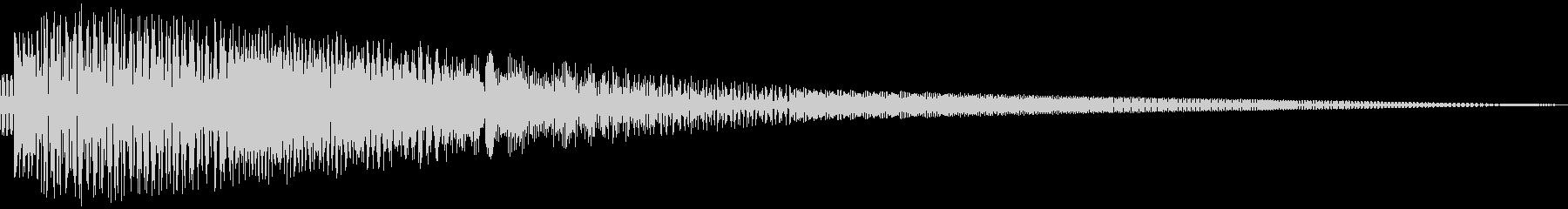ビコン(かわいい/ピコピコ音/ショットの未再生の波形