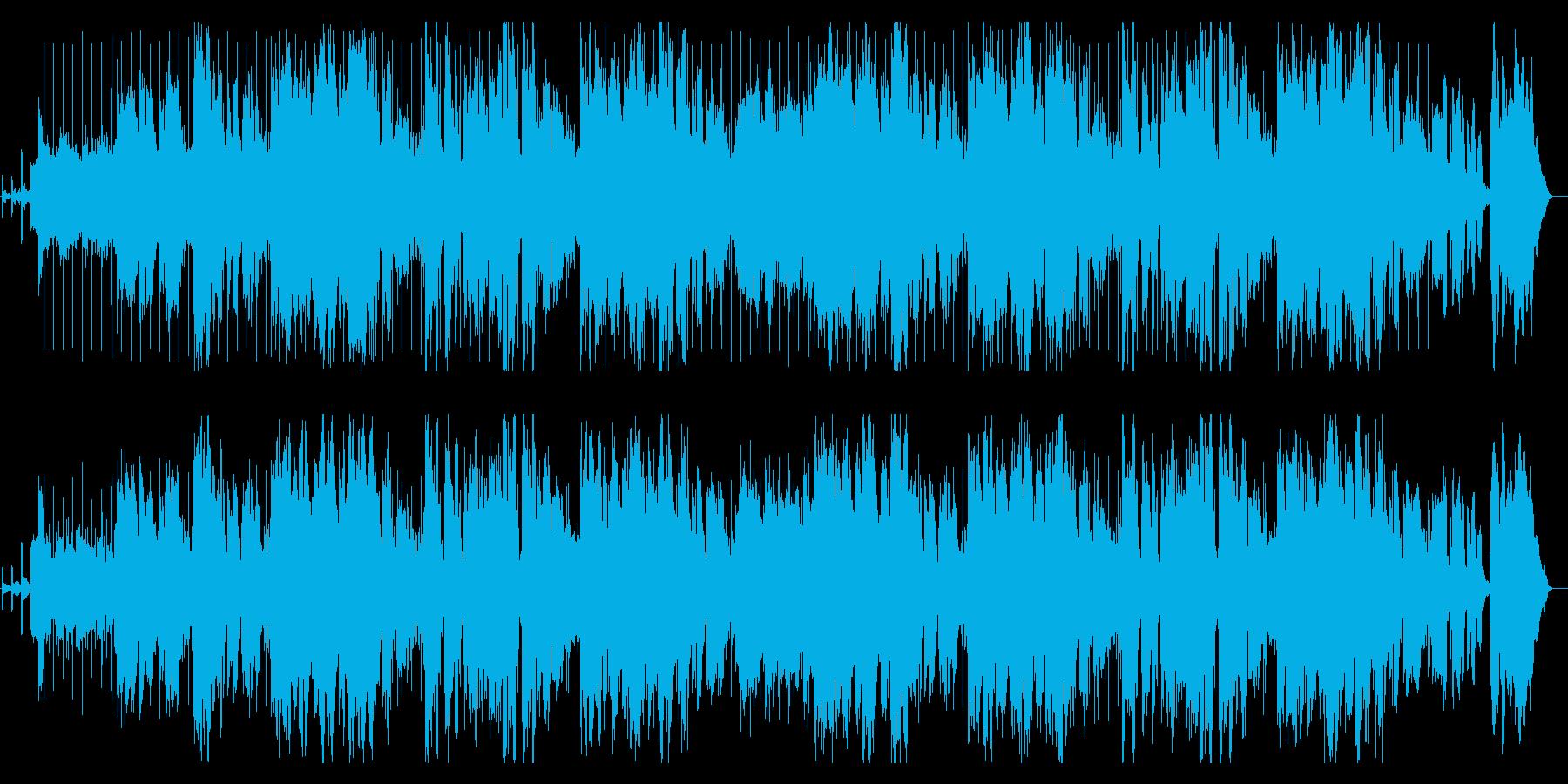 誕生日の歌アカペラ英語の再生済みの波形