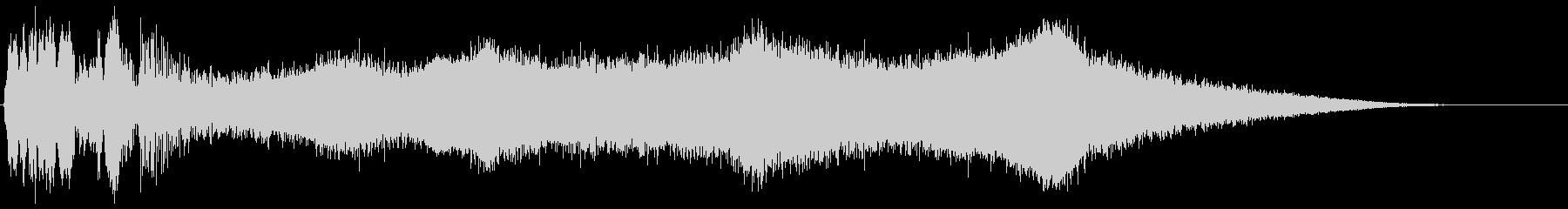 ハードディスク 起動音(ヴゥィィィン)の未再生の波形